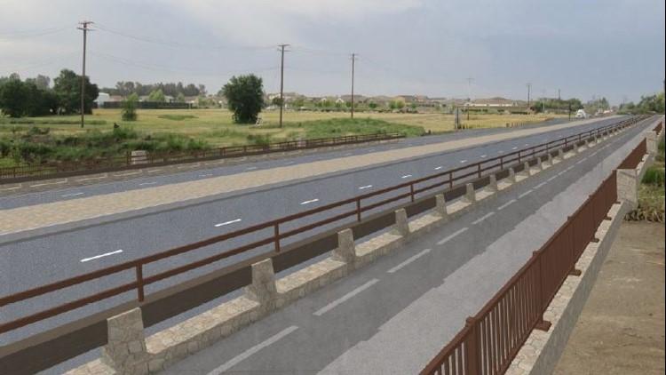 New Walerga Road Bridge rendering 2