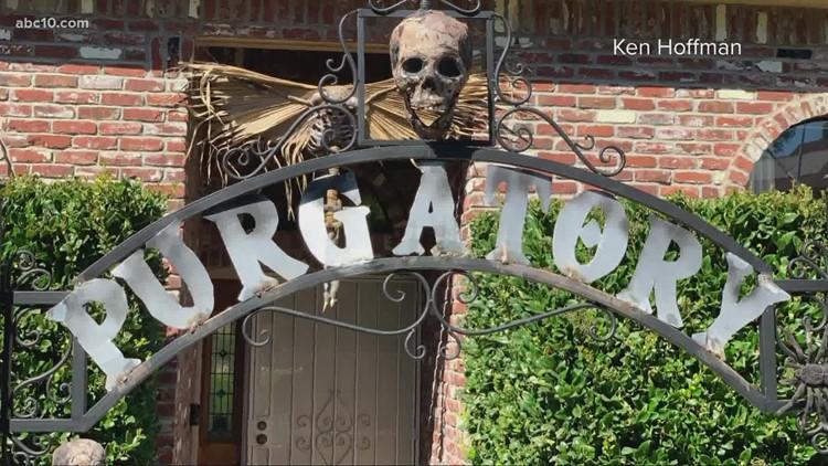 Roseville man creates 'B-level' horror movie sculptures for Halloween