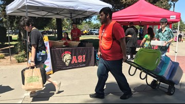 Largest freshman class in campus history moves in at Stanislaus State