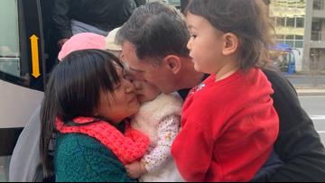 Family reunites after two-week Coronavirus quarantine | RAW