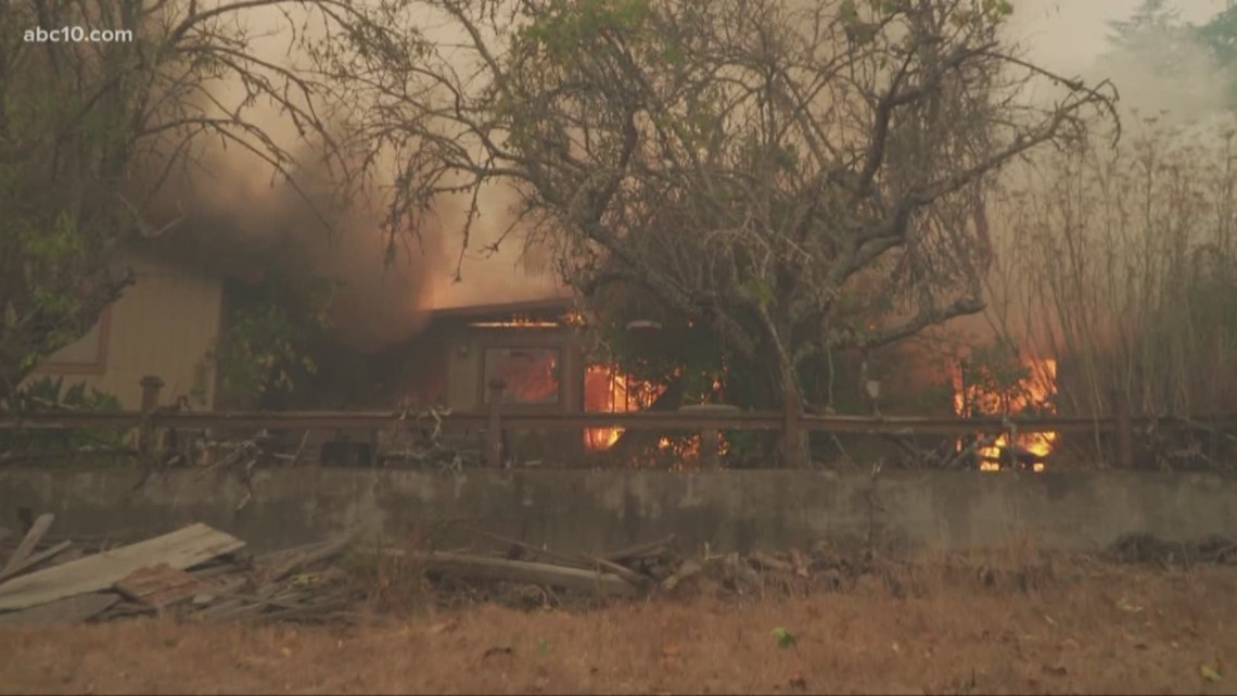 Oakland Gas Prices >> Kincade Fire: 6 pm Update from Windsor where homes are burning | abc10.com