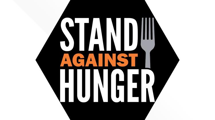 Stand Against Hunger participating food banks