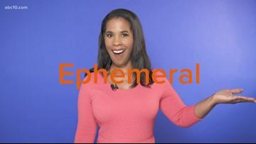 Word of the Week: Ephemeral