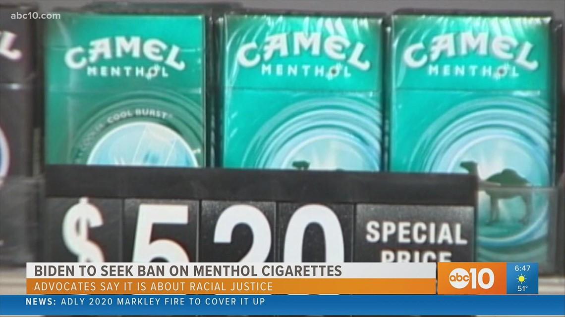 Biden eyes national ban on menthol cigarettes, following California's lead