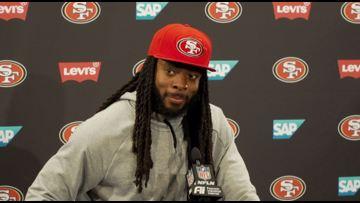 Super Bowl LIV Preview   San Francisco 49ers CB Richard Sherman
