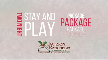 Enter to Win a Jackson Rancheria Stay & Play Package + Please Donate Today!