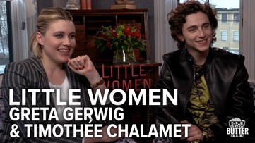 Little Women: Greta Gerwig & Timothee Chalamet Interview | Extra Butter