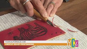 Linocut Relief Printmaking