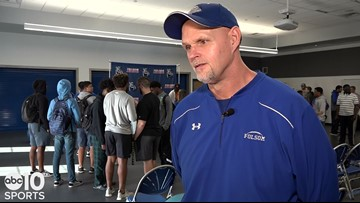 Folsom head coach Kris Richardson talks about winning State, signing day and Troy Taylor's hiring at Sac State | FULL INTERVIEW