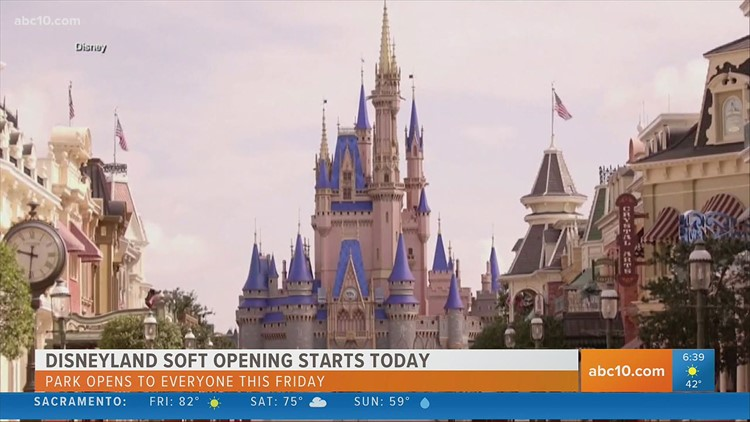 Disneyland reopens on Friday | Entertainment News