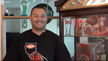 'Can't wait for the Niners to bring back that trophy' | How a die-hard fan preps for the Super Bowl