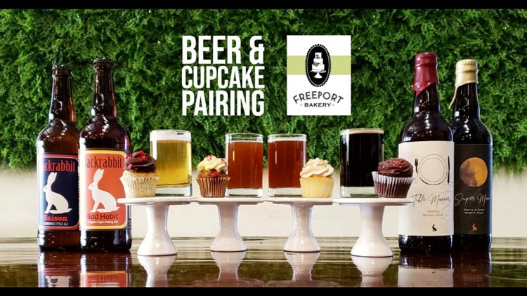 Beer & Cupcake Paring