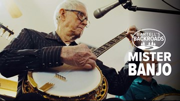He's 91 and still rocking the banjo | Bartell's Backroads