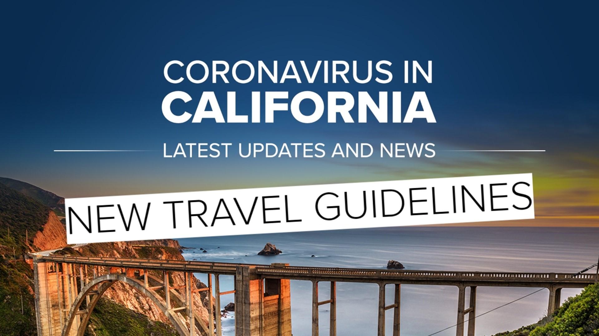 California Releases Coronavirus Holiday Travel Advisory Abc10 Com