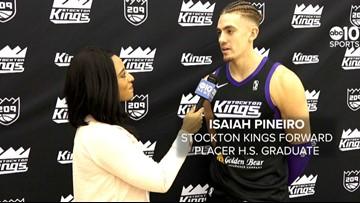 Auburn native Isaiah Pineiro working toward NBA Call-Up with Stockton Kings G-League | FULL INTERVIEW