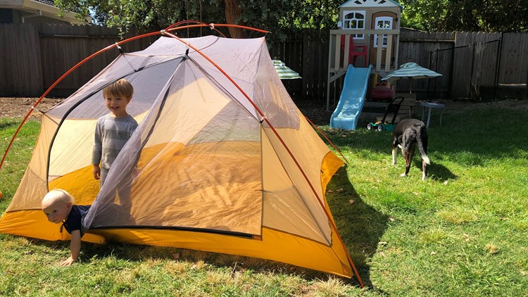 Here's how to turn your backyard into your very own campground