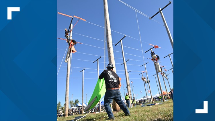 PG&E team among the 'Best of the Best' at the International Lineman's Rodeo