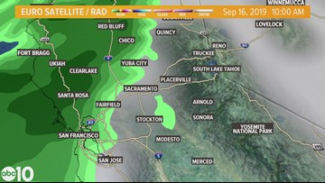 Snowfall forecasted for the Sierra this weekend | Radar