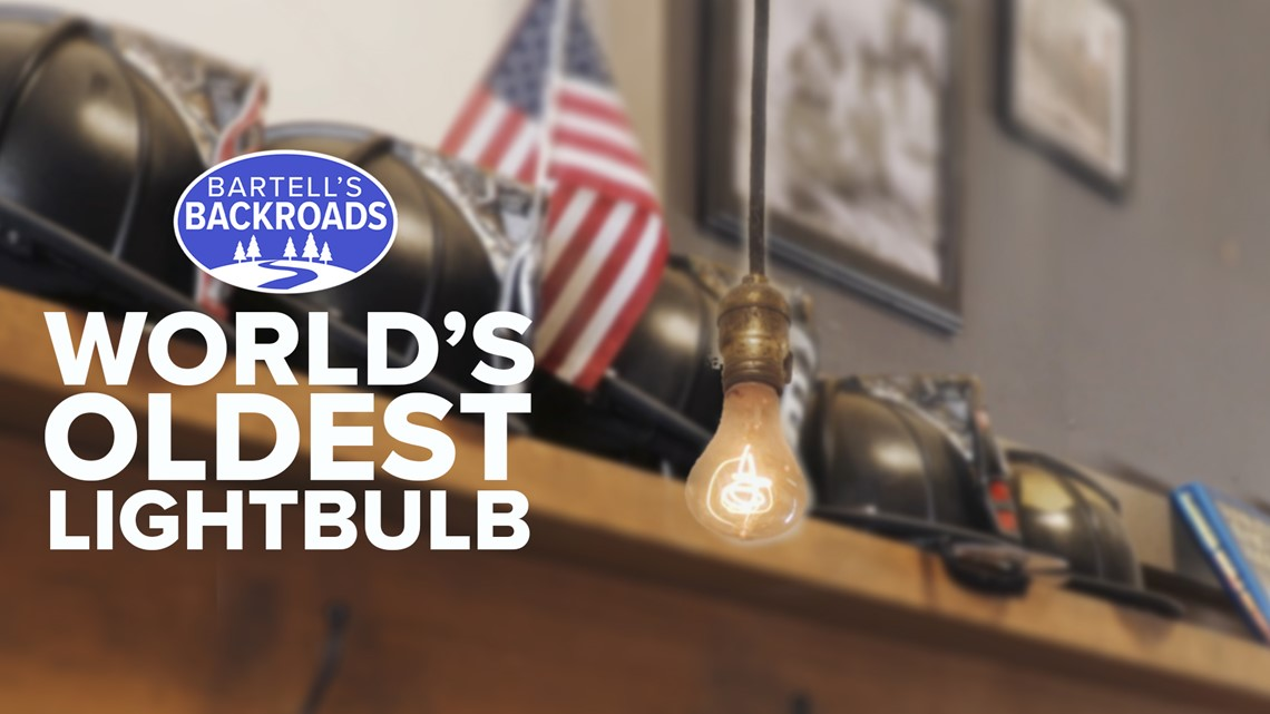 World's oldest bulb continues to provide light in California 120 years after its first flicker | Bartell's Backroads