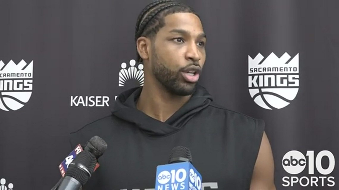 Tristan Thompson on spoiling the Portland's opening night and looking forward to Kings home opener