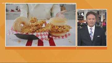 Business Headlines: Chicken sandwich with donut bun sold at KFC