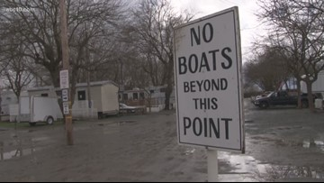 RV park in Walnut Grove forced to evacuate due to flooding