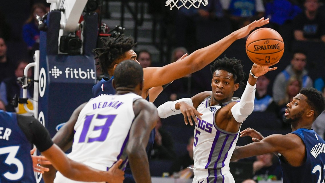 Hield rallies Kings to 133-129 OT win over Timberwolves