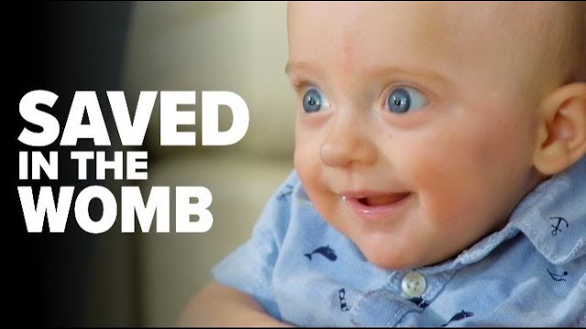 Saved in the womb