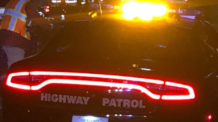 Person struck, killed while pushing vehicle on I-80 near Davis, CHP says