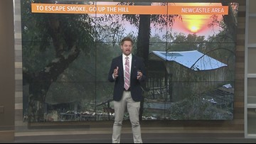 Local afternoon weather: Nov. 13, 2018