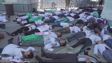 UC Davis medical students, faculty staging 'die-in' protest to honor Stephon Clark   Need to Know