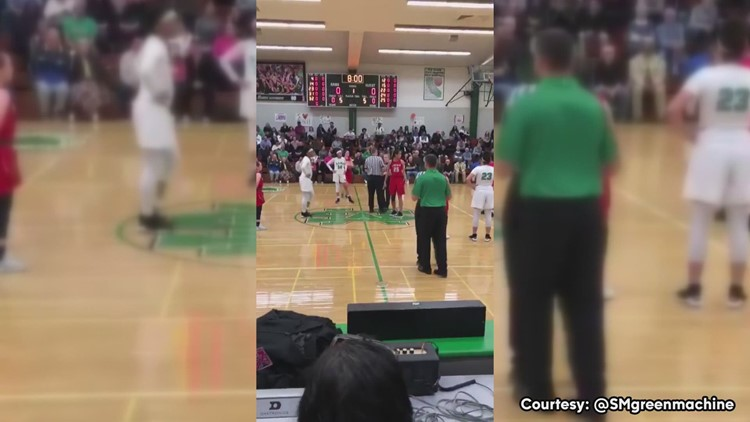 Abc10 Marriage Proposal By Referee At Stockton Basketball Game
