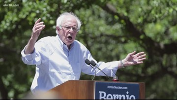 Local Headlines: Bernie Sanders hits Sacramento, Elk Grove PD release gas station robbery video, and advocates rally to reduce single-use plastics