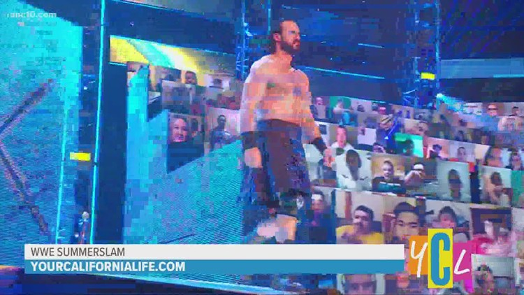 WWE's SummerSlam and Star of Monday Night Raw, Drew McIntyre