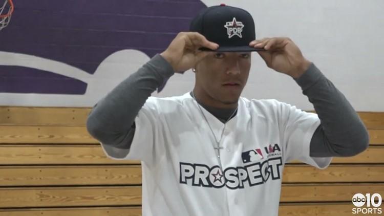 MLB, USA Baseball recognize University of Arizona commit Chase Davis in Sacramento