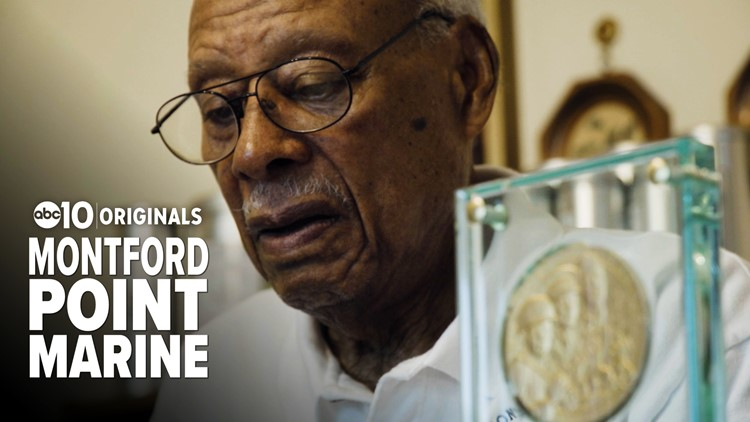 Sacramento man made history as one of the first African Americans inducted into the U.S. Marine Corps.