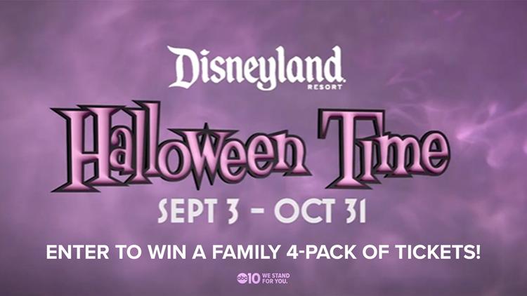 Enter to win Disneyland Halloween Time Tickets!