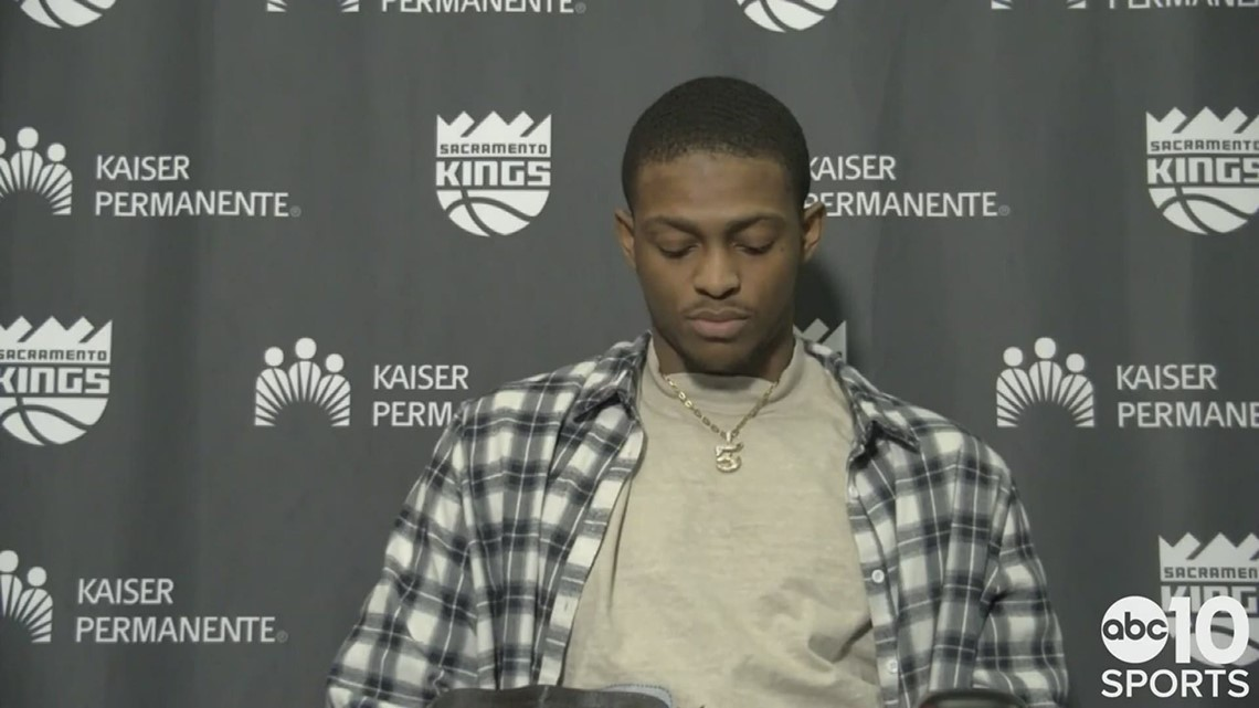 De'Aaron Fox says Sunday's 127-126 loss to the Hornets stings more than other Kings' losses this season