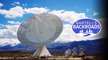 'Big Ears' in the eastern Sierra searching for answers to galactic mysteries