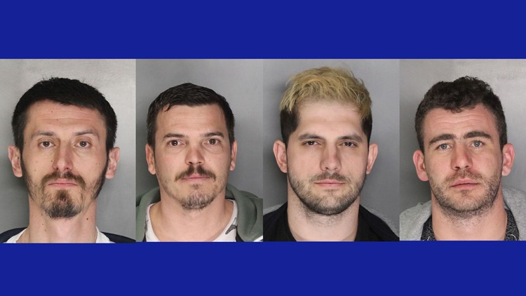 Four arrested in ATM skimming ring