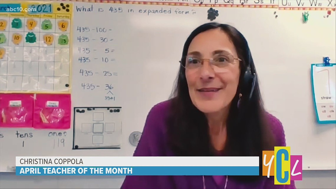 ABC10 April Teacher of the Month