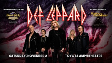 Rock with Def Leppard - Enter to Win Tickets!
