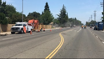 Evacuations lifted following gas leak in Rancho Cordova