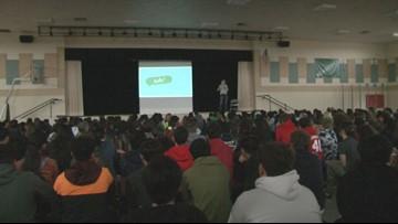 Lodi middle school students get a lesson in preventing a school massacre