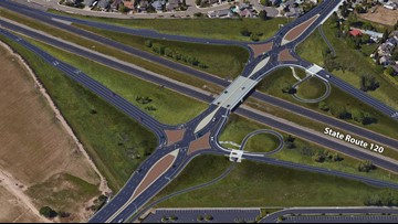 California's first Diverging Diamond Interchange could be in Manteca by the end of 2020