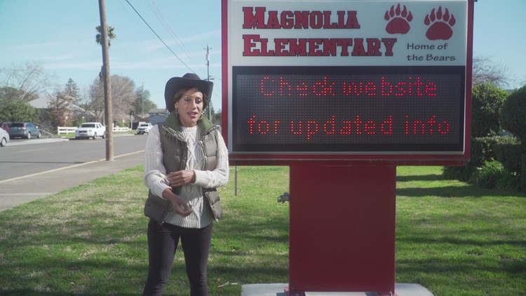 February Teacher of the Month at Magnolia Elementary