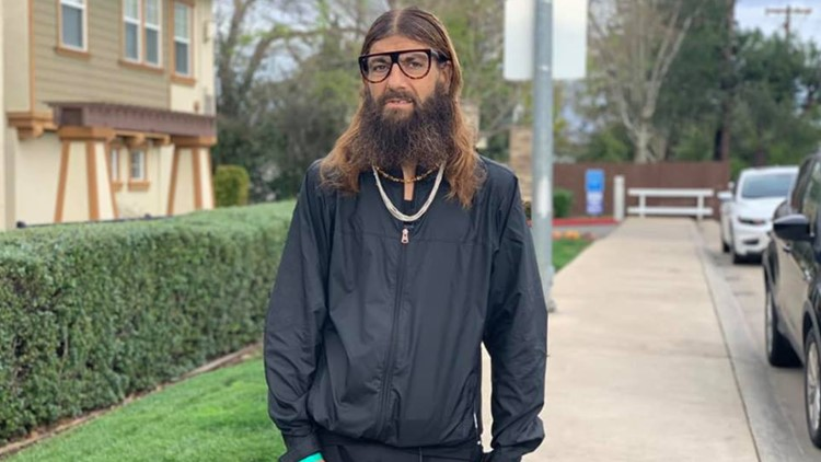 Folsom's 'Running Jesus' in recovery after being stabbed in the chest