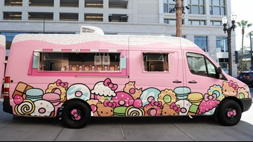 Hello Kitty food truck scheduled to stop in Sacramento, Stockton