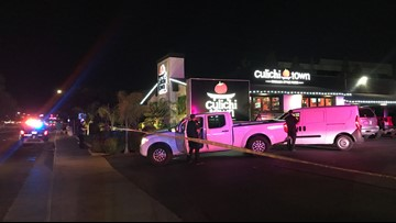 2 people shot  outside Arden-Arcade restaurant; shooter at large