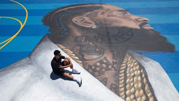 Nipsey Hussle street art in Los Angeles breathes life into legacy